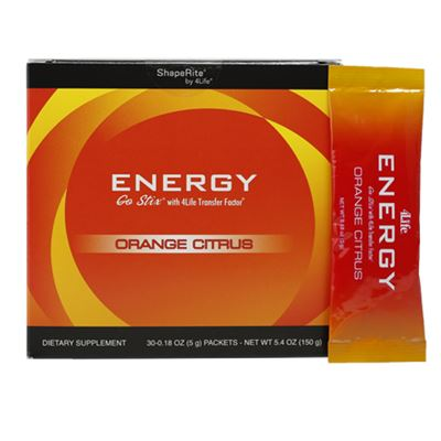 4Life Energy Go Stix Orange Citrus