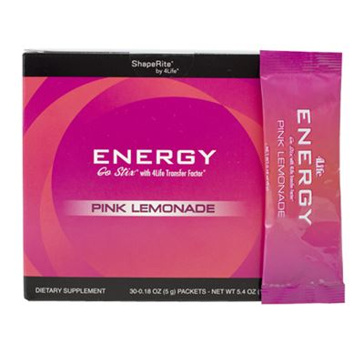4Life Energy Go Stix Pink Lemonade