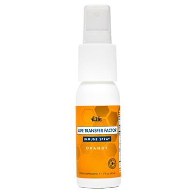 4Life Transfer Factor Spray Orange